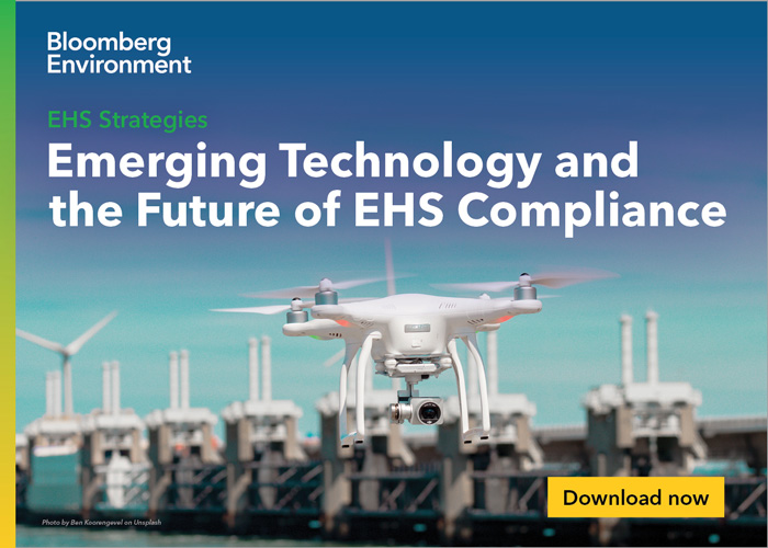 Bloomberg Environment - Emerging Technology and the Future of EHS Compliance