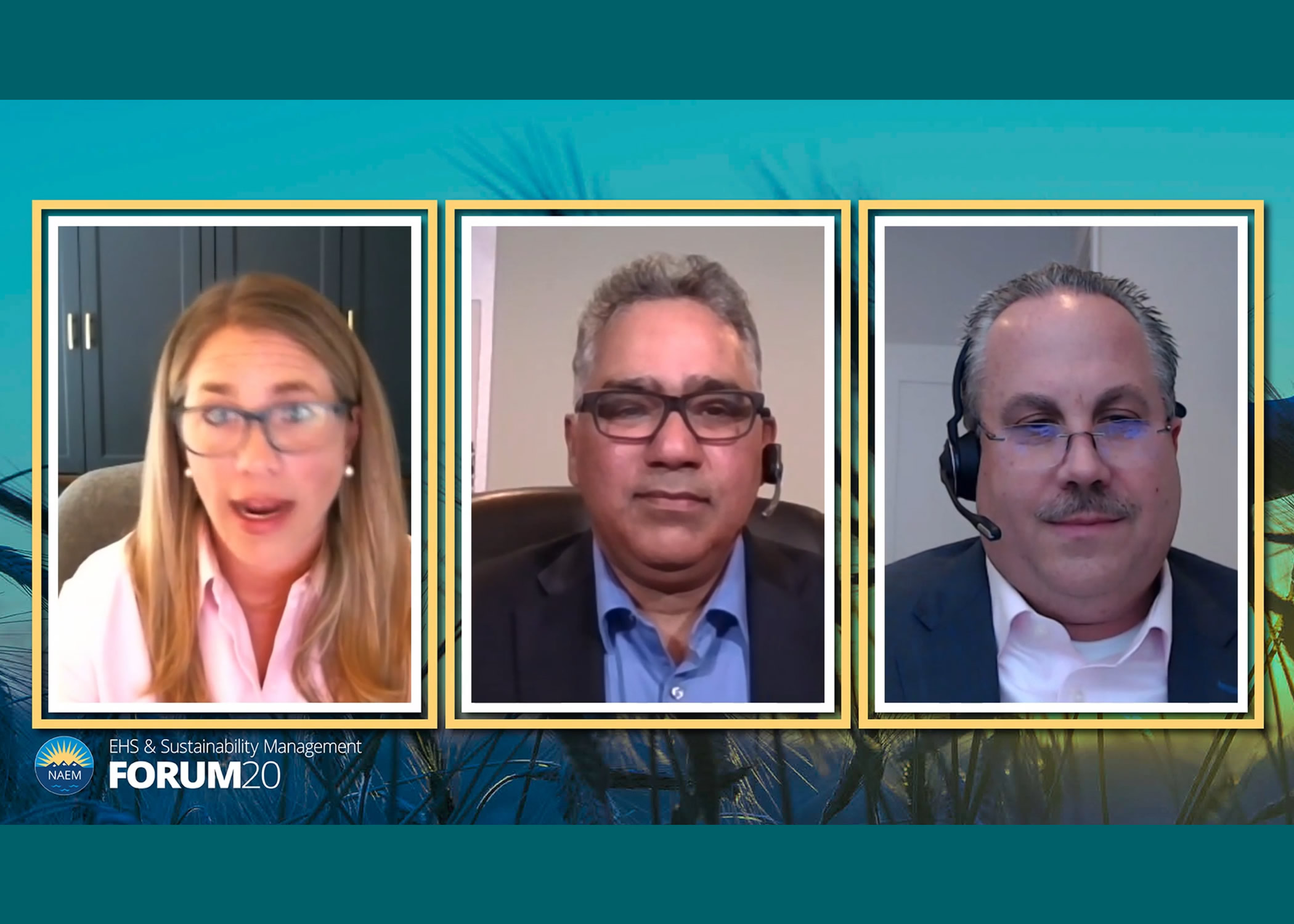 2020 EHS&S Forum - Lara Malatesta, Allan Fernandes, Jon Kipp